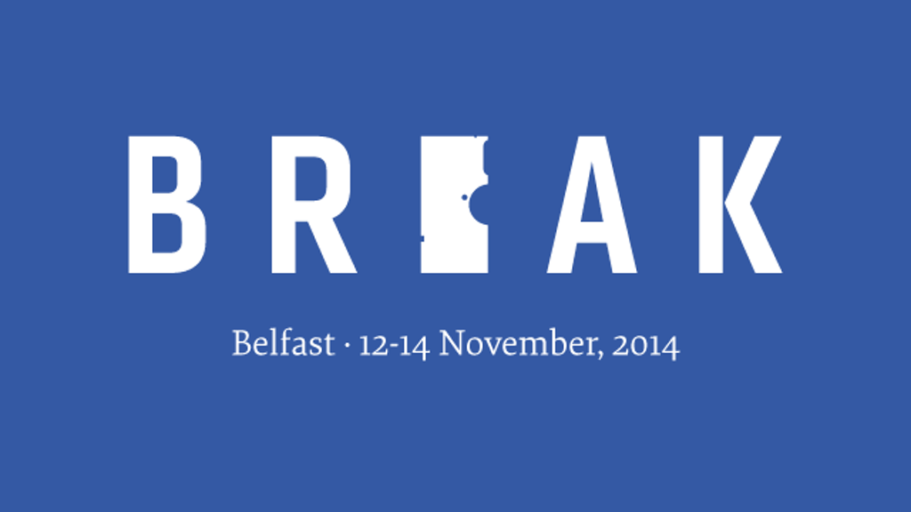 Break: A Conference That Questions the Edges of Design project video thumbnail