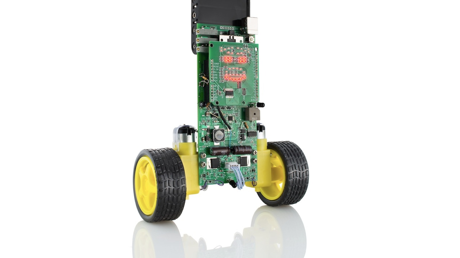 A low-cost, open-source, Arduino-compatible balancing robot for learning, hacking and delight