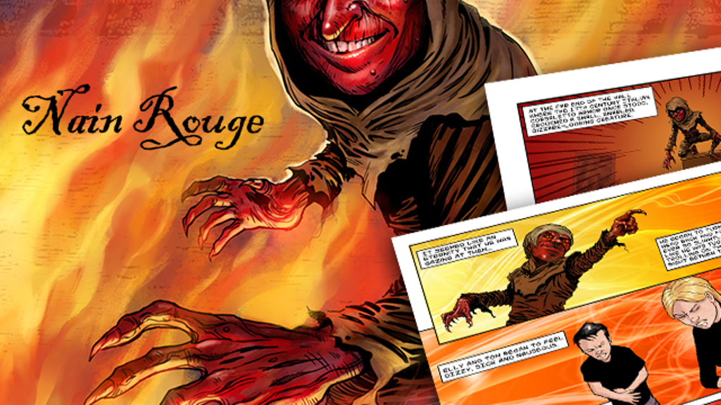 The Nain Rouge Graphic Novel project video thumbnail