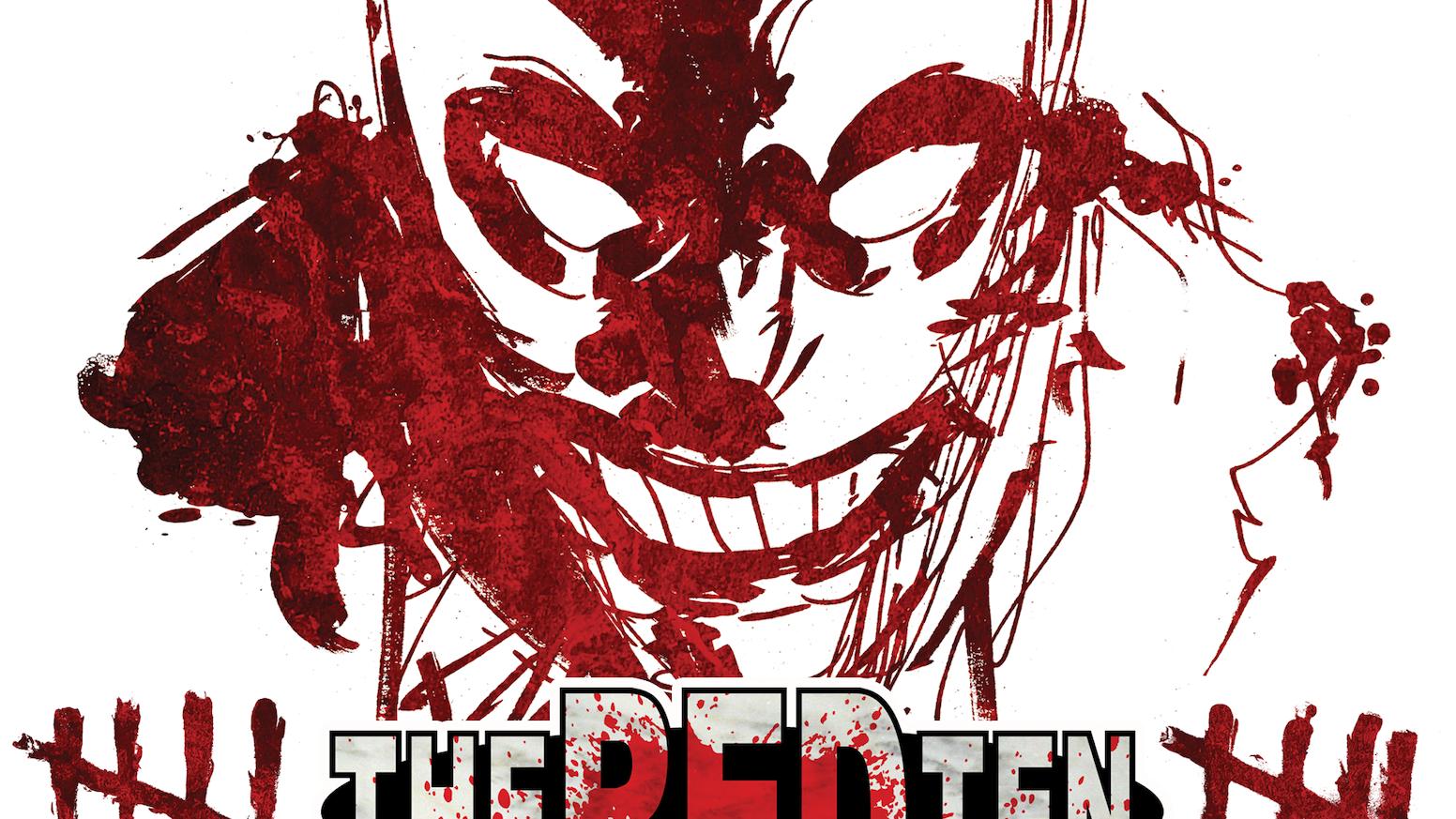 A superhero murder mystery by Tyler James & Cesar Feliciano.