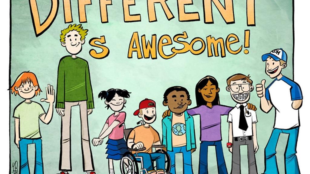 Different Is Awesome! Kids Picture Book project video thumbnail