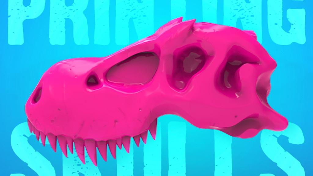3D Printer Skull Kits: 'Boneheads' by 3DKitbash.com project video thumbnail
