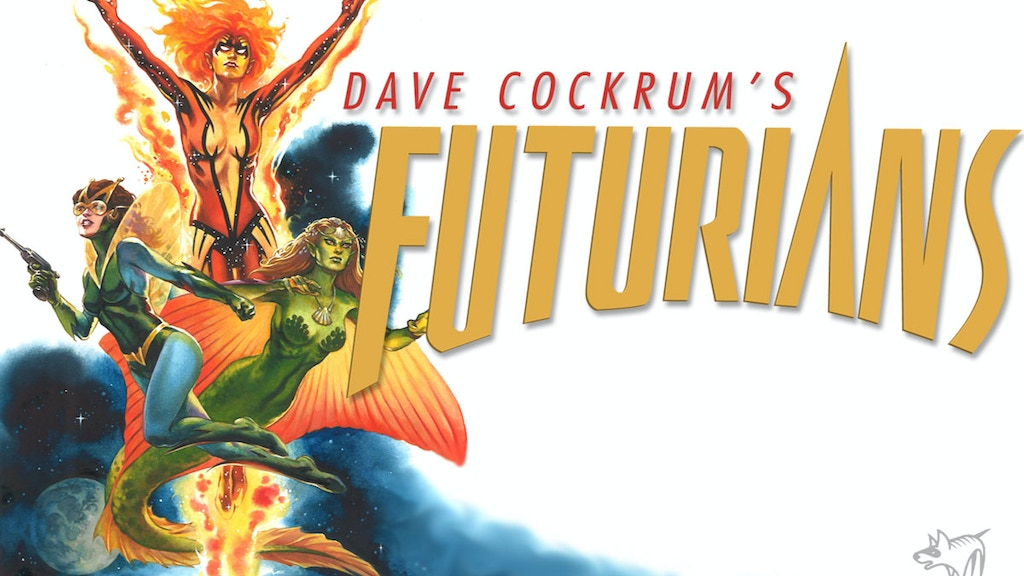 Dave Cockrum's FUTURIANS Return project video thumbnail