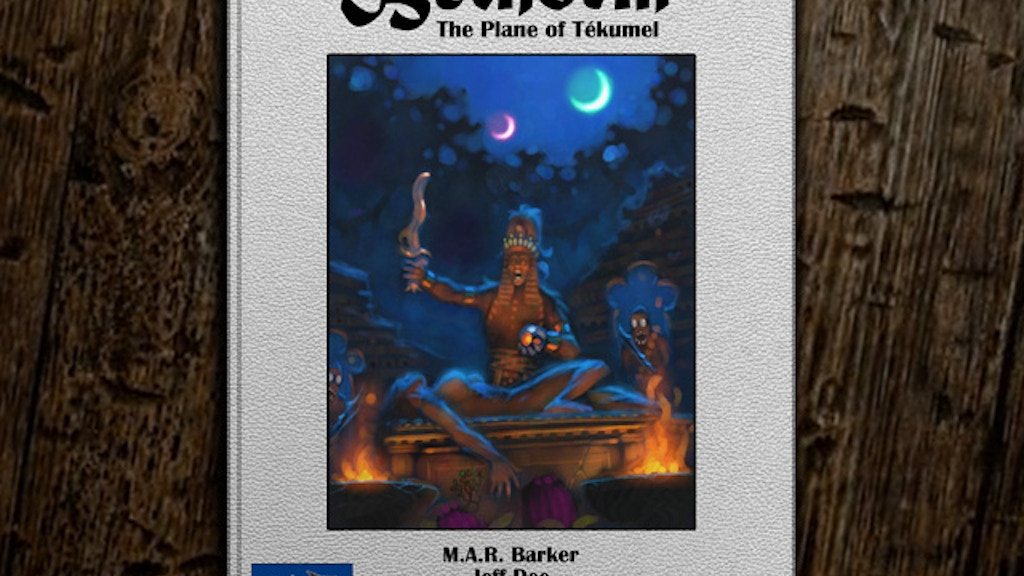Bethorm: the Plane of Tekumel RPG project video thumbnail