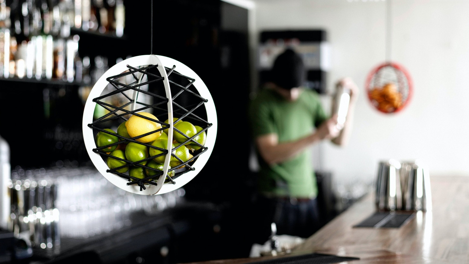 Pluk will keep your fruit fresh longer. It is a great way to save space and free up your counter.