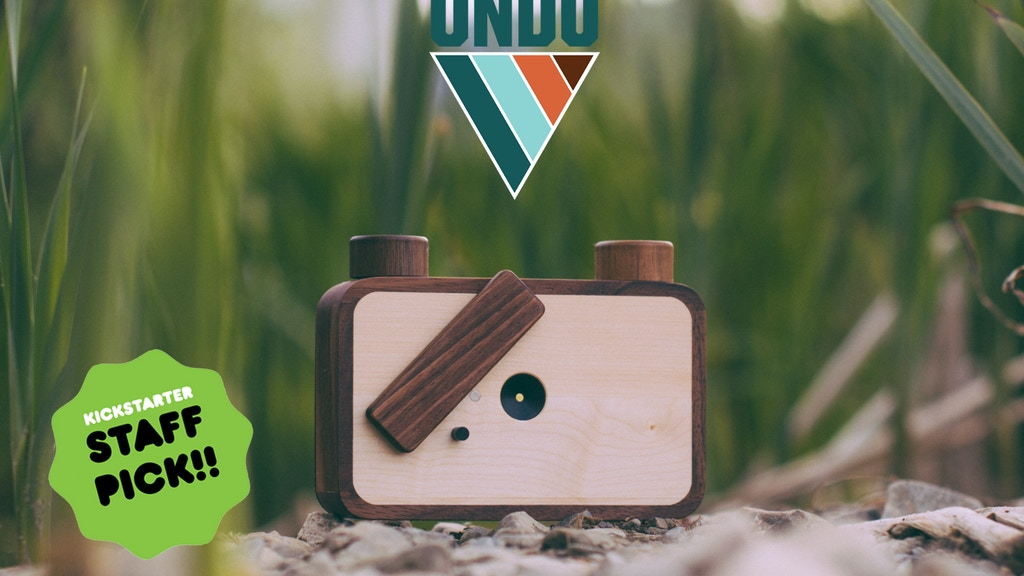 ONDU -A Pinhole camera that can be passed on for generations project video thumbnail