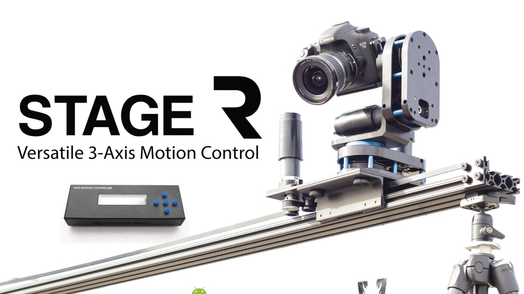 Smartphone Enabled Motion Control for Timelapse and Film project video thumbnail