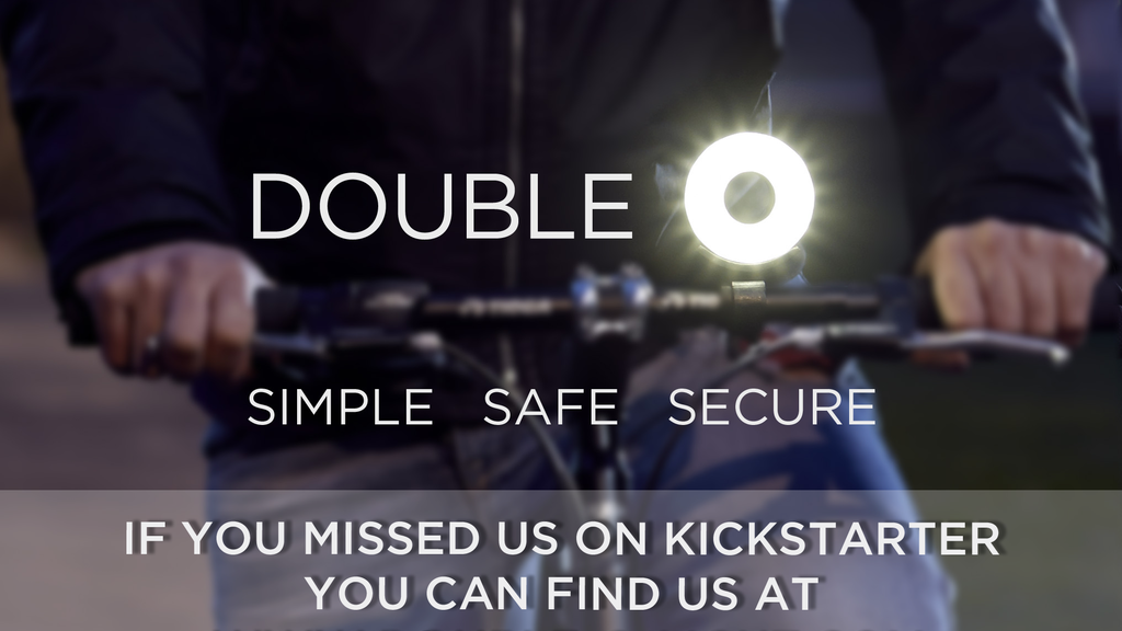 Double O - A simple, safe, secure bike light project video thumbnail