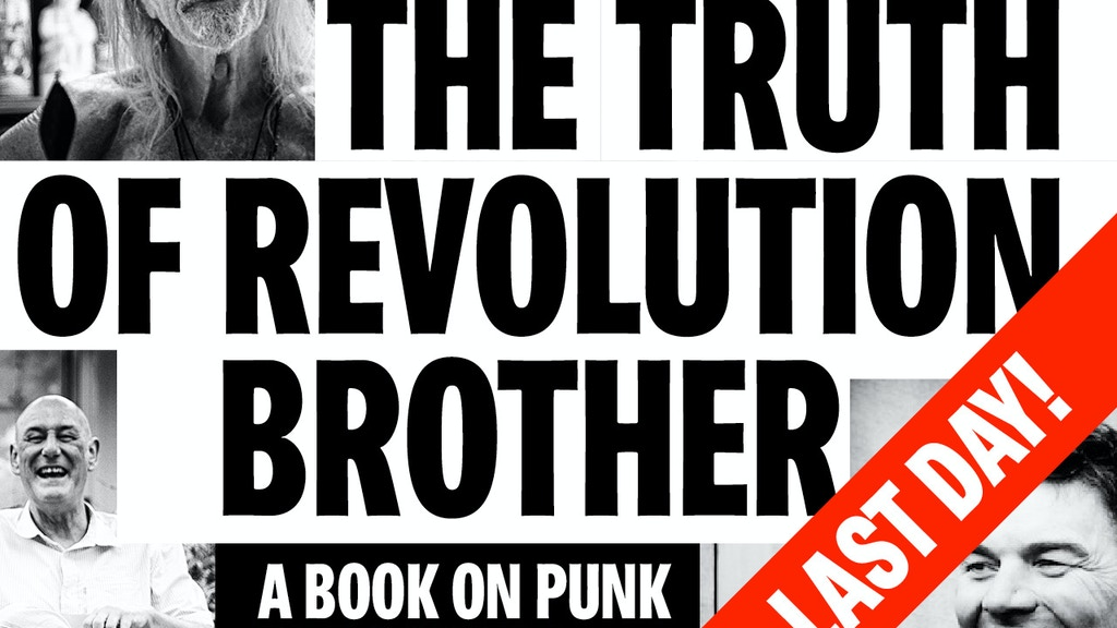 """""""The Truth of Revolution, Brother.""""  Punk Philosophy book project video thumbnail"""