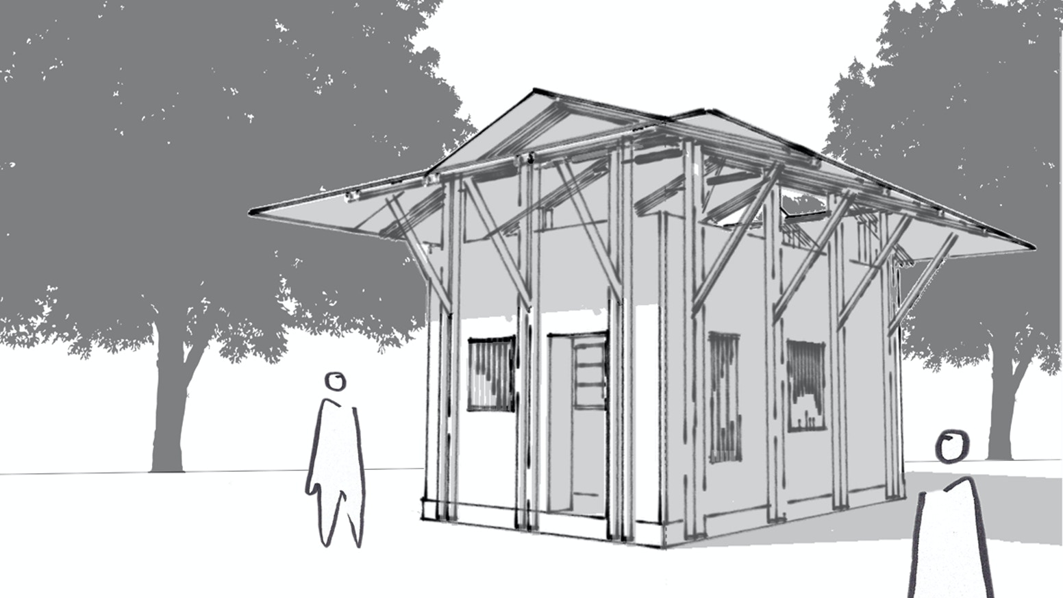 A prototype low cost eco home for slums in the nigerian capital abuja