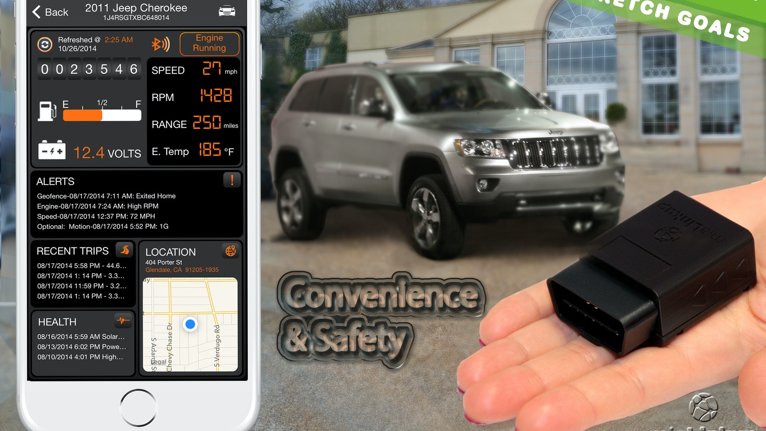 Mialinkup A New Direction In Connected Car And Iot By Of 3 Phase Motor Starter On June 16 2014 1 Comments Kickstarter
