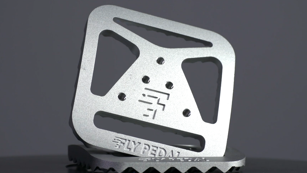 FlyPedals - Universal Clipless Bike Pedal Adapter project video thumbnail