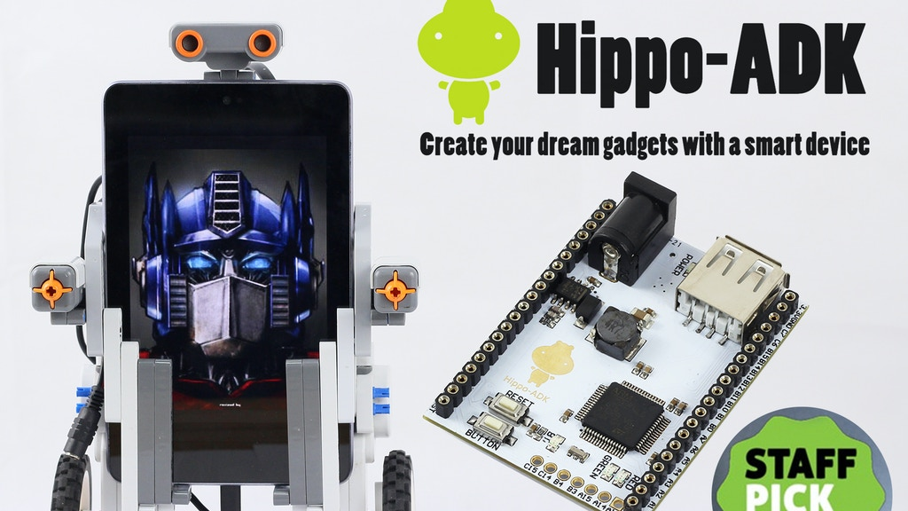 Hippo-ADK: Create your dream gadget with a smart device project video thumbnail