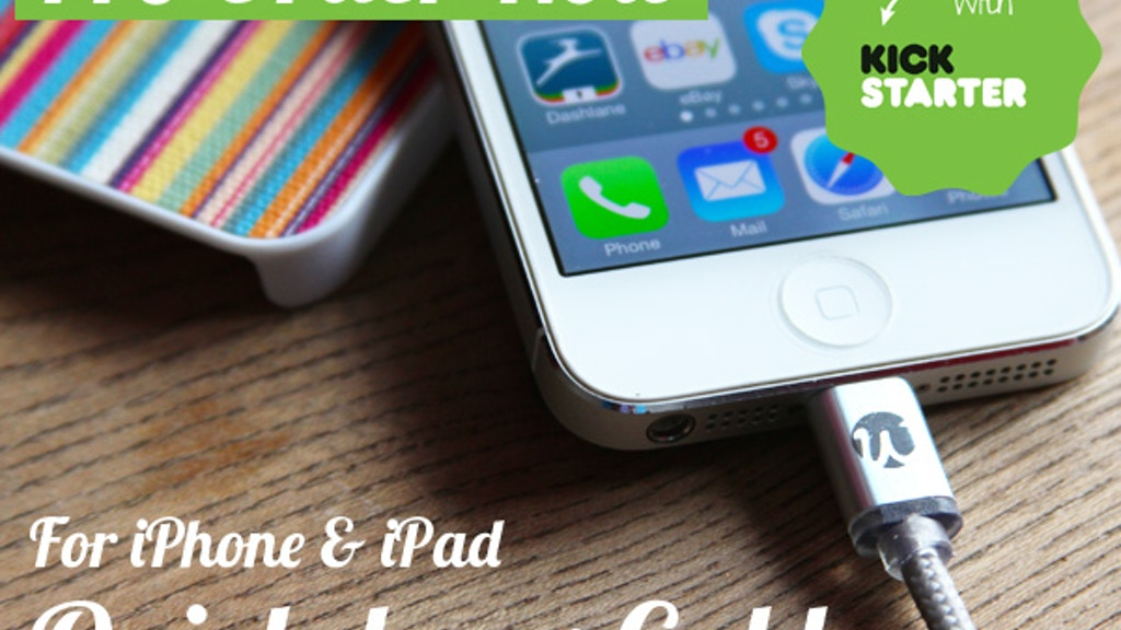 Quickdraw Cable - For iPhone & iPad project video thumbnail