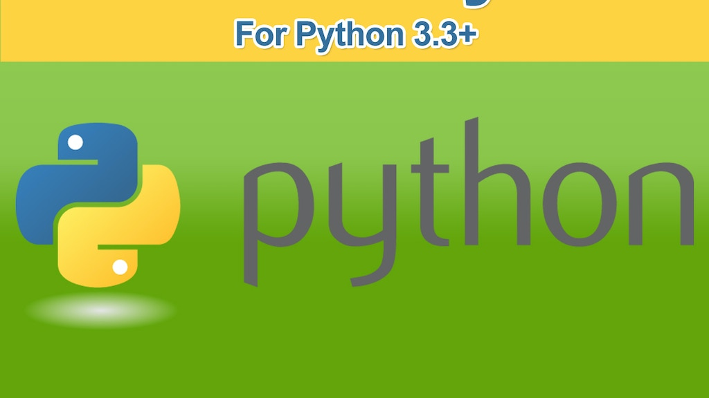 """A """"Writing Idiomatic Python"""" Video Series: Watch and Learn! project video thumbnail"""
