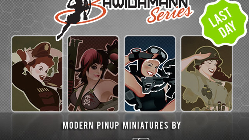 Modern Pinup Miniatures, Bawidamann Style! project video thumbnail