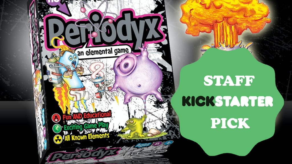 Periodyx: An Elemental Card Game! project video thumbnail