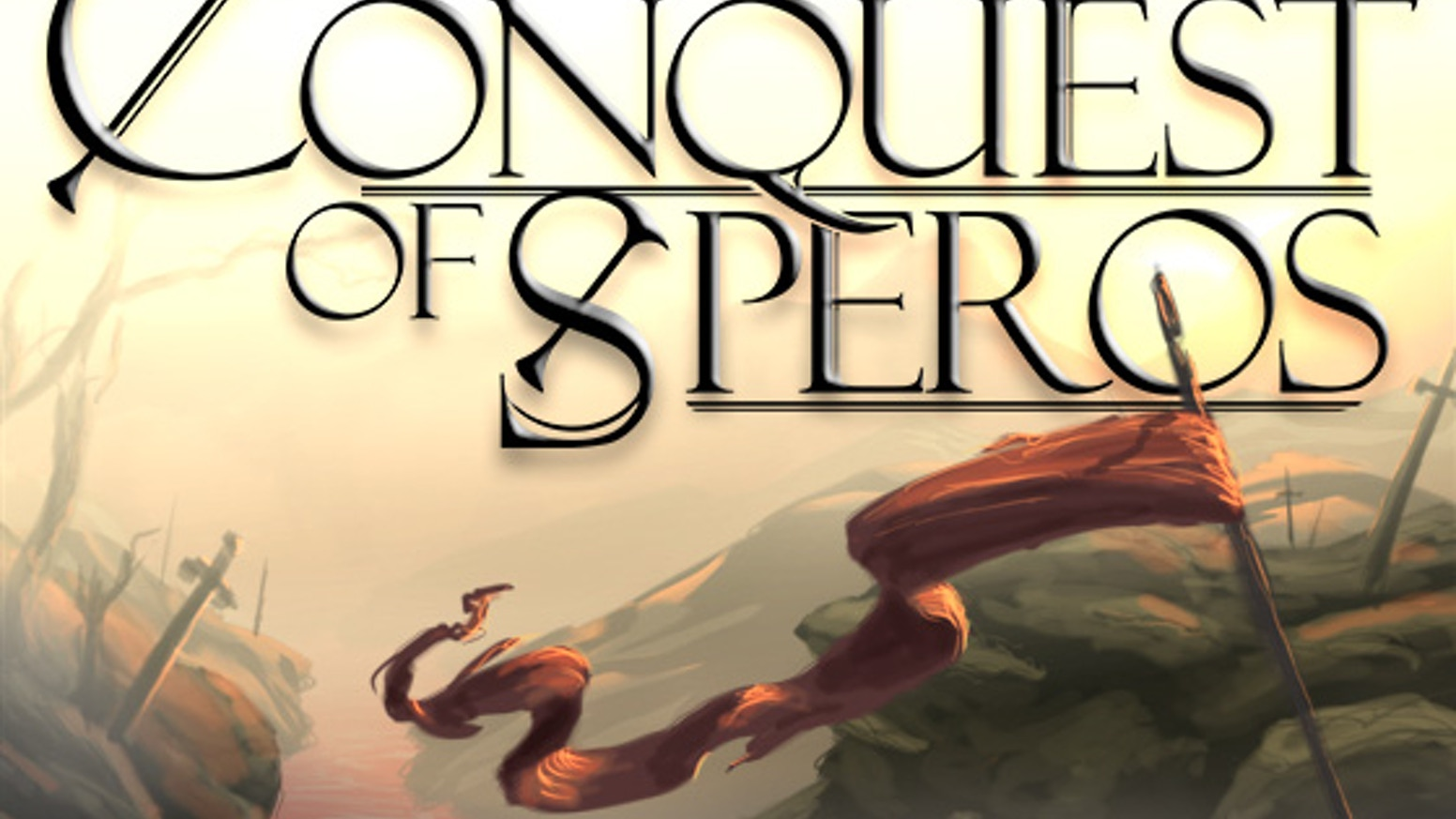 Conquest of Speros is a fun and fast card game where you take control of an army trying to secure land and resources for your race.