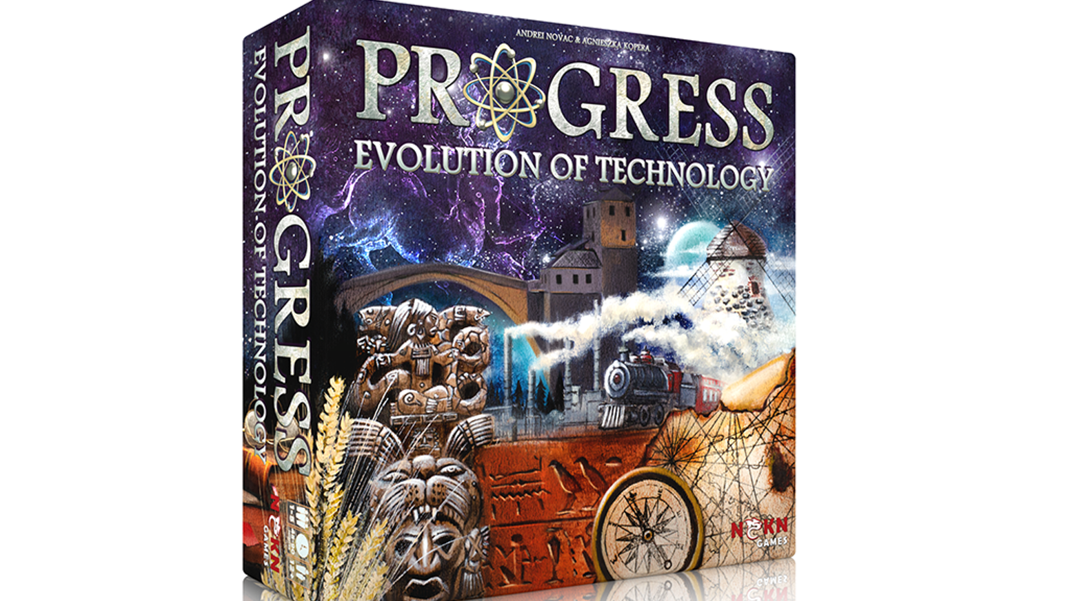 Research technologies to build a civilization and help your society flourish. Become part of the Progress!