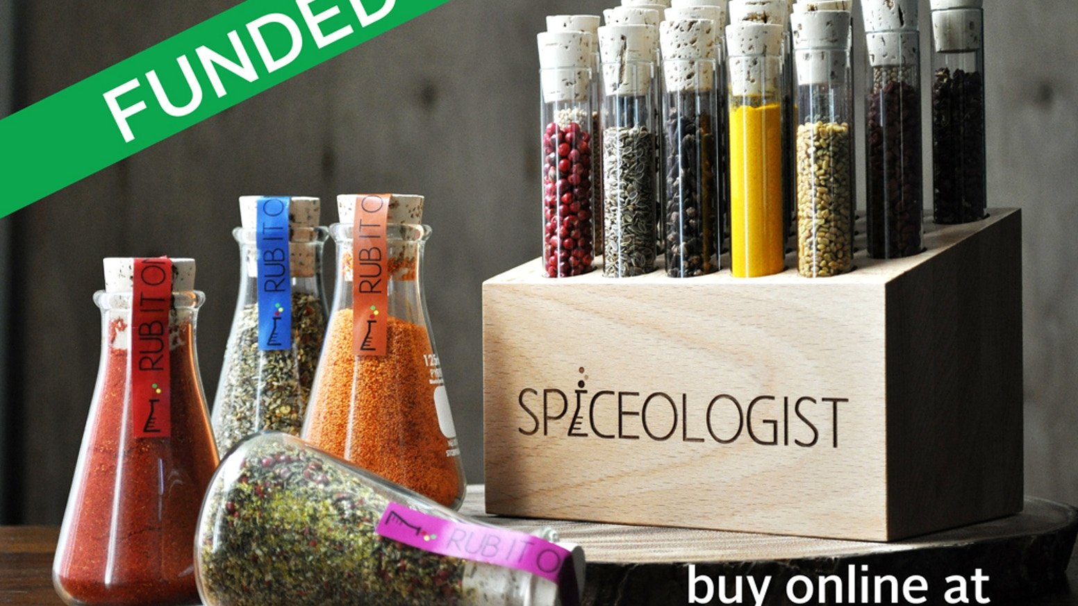 Check out our website for spicy deliciousness.  Rubs, Spices & the Spiceologist Block.