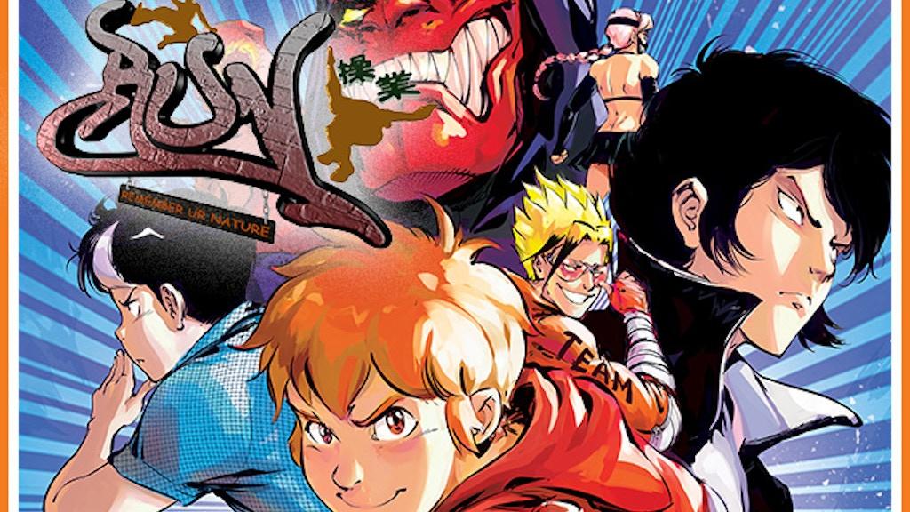R.u.N. (Remember ur Nature) Parkour Manga Volume 1 project video thumbnail
