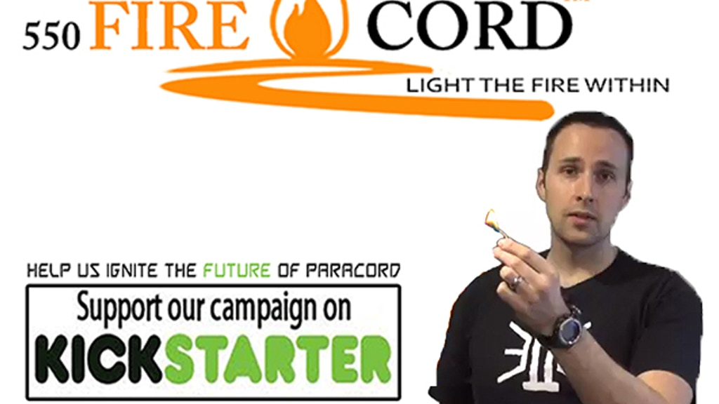 550 FireCord the Ultimate Emergency Fire Starter project video thumbnail