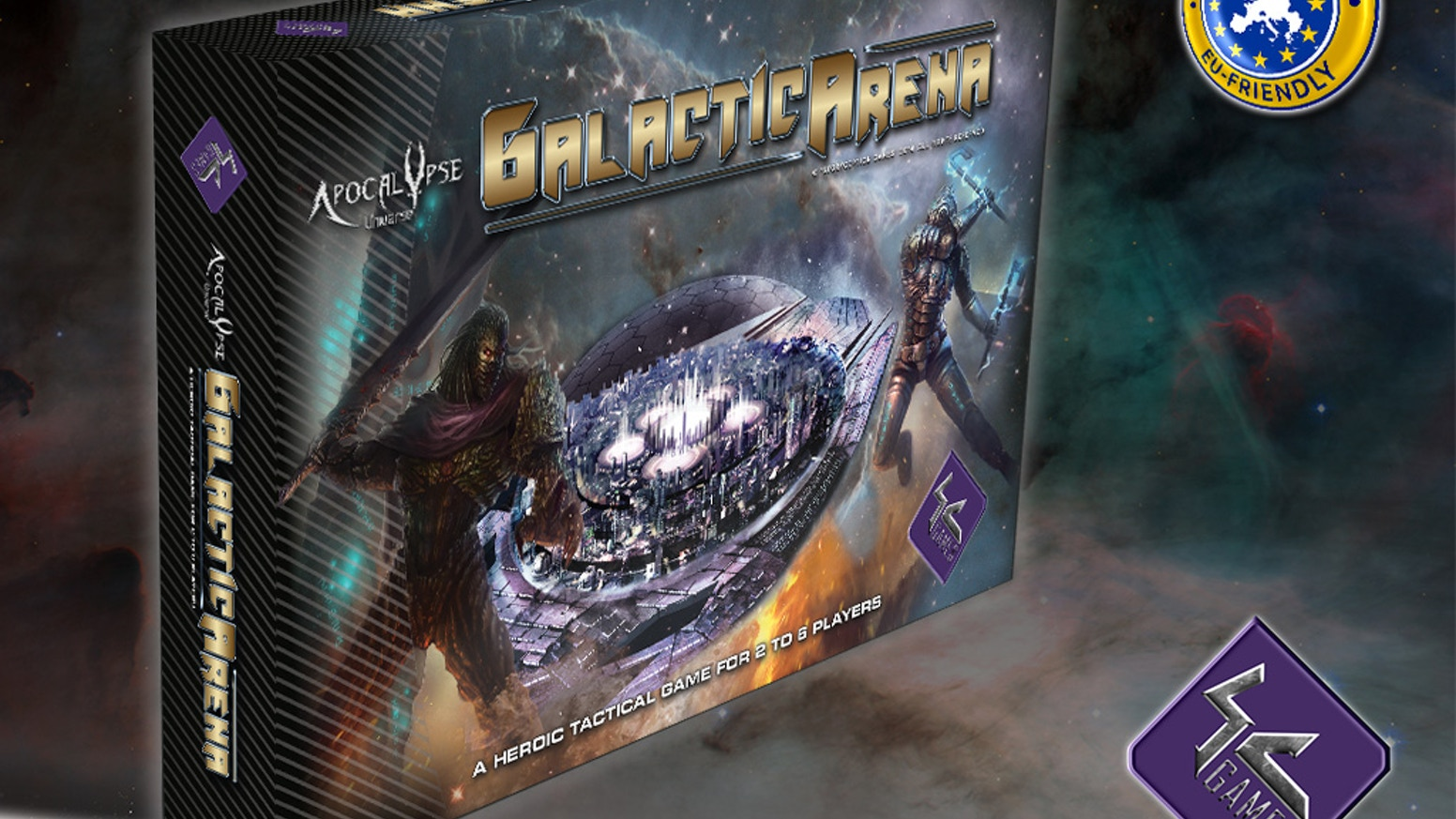 In this fast paced tactical battle boardgame, one fight lasts 15 minutes but no two fights are the same!