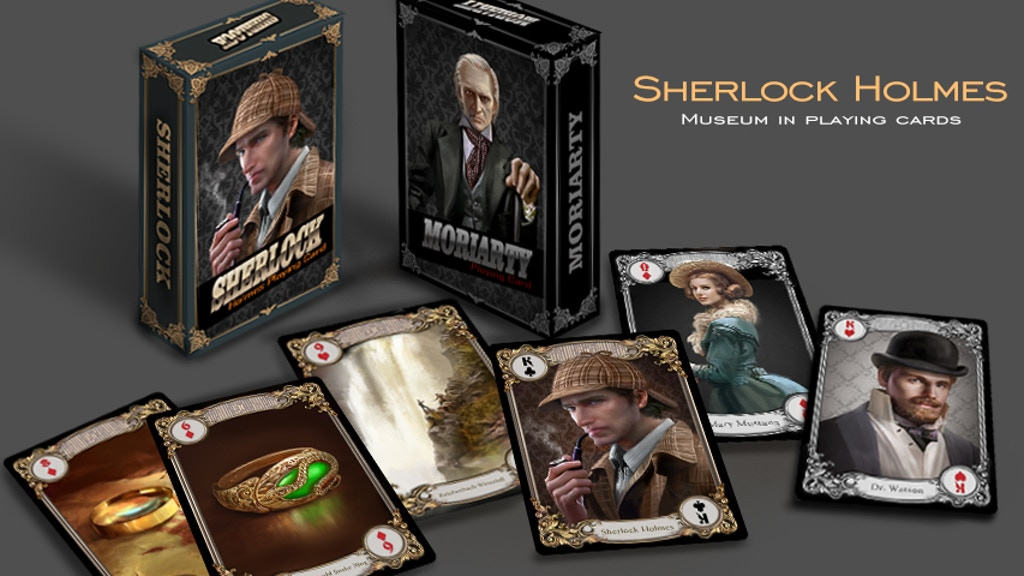 Sherlock Holmes Museum in Playing Cards project video thumbnail