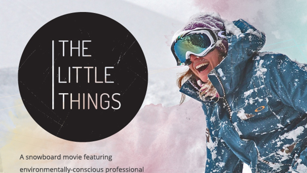 The Little Things Movie project video thumbnail