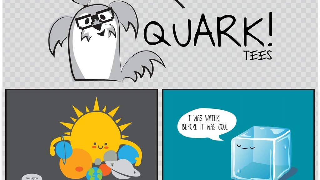Quark Tees - Indulge your Inner Geek! project video thumbnail