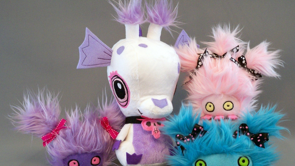 Undead Baby Dragon & Bitemares Plush from Vamplets project video thumbnail