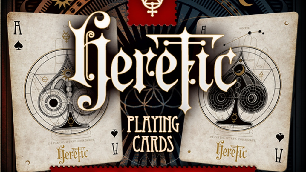 Heretic Playing Cards project video thumbnail