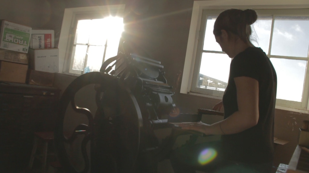 Expedition Press! Literary Letterpress project video thumbnail