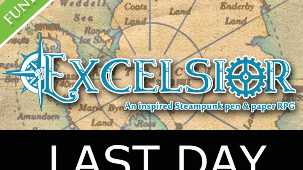 Excelsior – An Inspired Steampunk Pen and Paper RPG! project video thumbnail