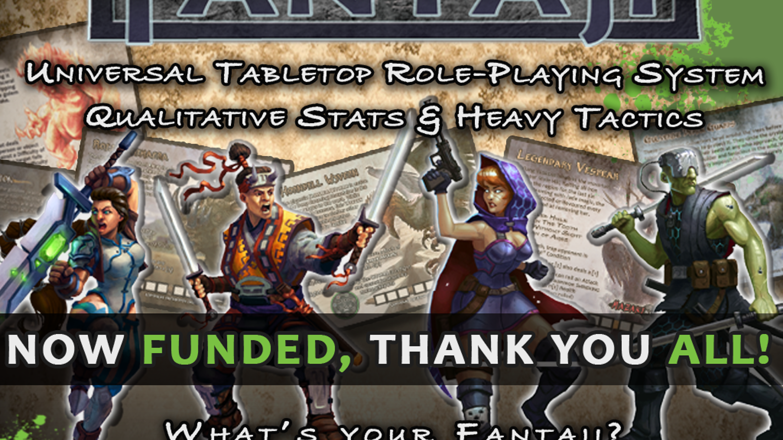 Fantaji Universal Role-Playing System by Calvin Johns » Play-By-Post