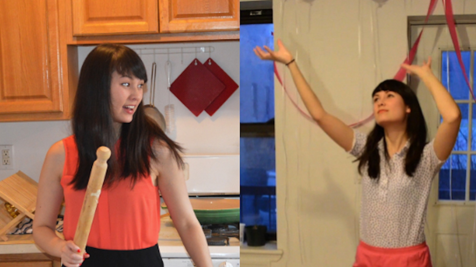 A webseries! Each episode is half pizza cooking show, half pizzercise!