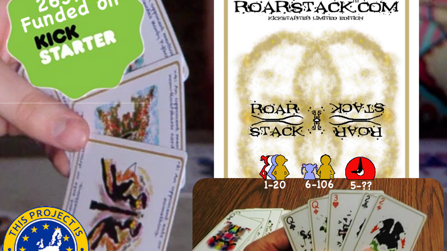 RoarStack provides innovative card game experiences combining inkblots and unique game mechanics for fun creativity-boosting play.