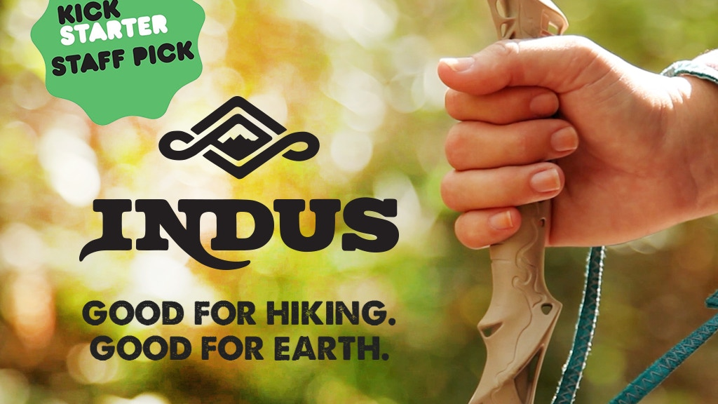 Indus Reclaimed High Performance Hiking Sticks project video thumbnail