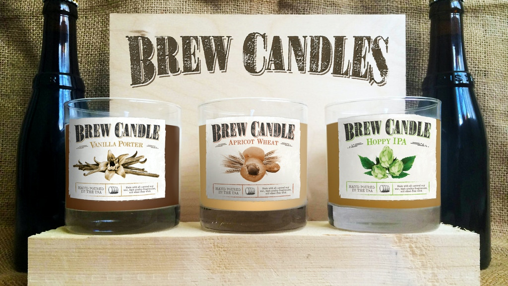 Brew Candles: Beer-Inspired Aromatics! project video thumbnail