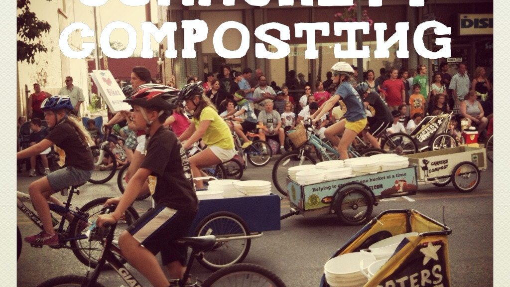 Traverse City's Bike-Powered Community Composting project video thumbnail