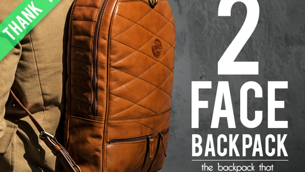 Chivote 2Face Backpack project video thumbnail