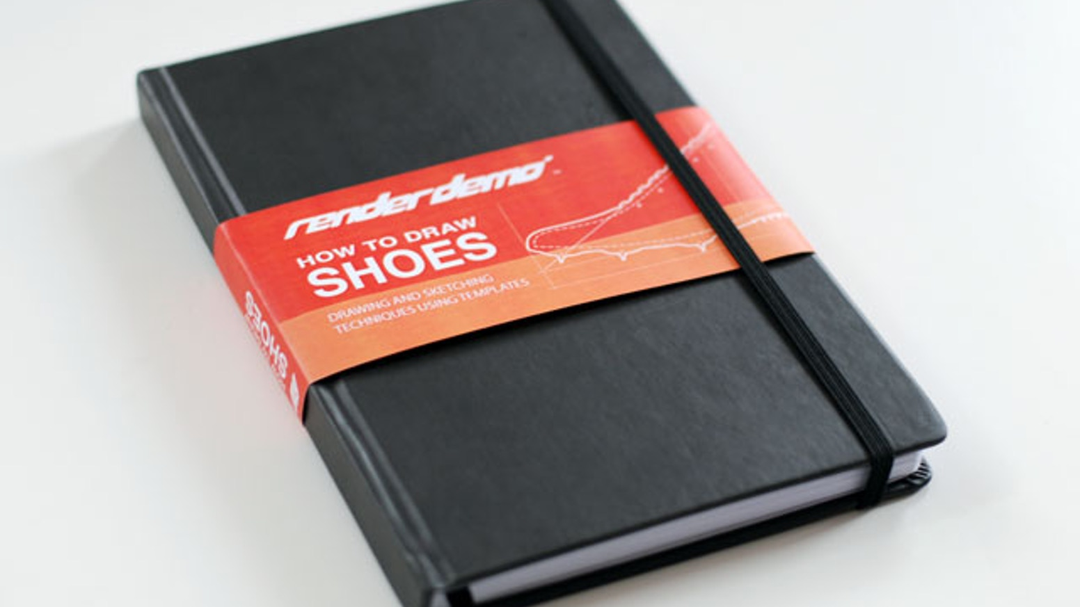 A sketchbook for anyone interested in designing shoes.  Filled with templates and guidelines.