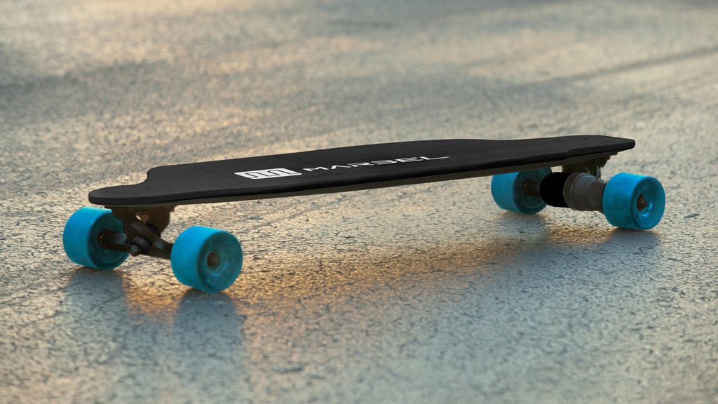 fd5a193c73b2d Marbel - The Lightest Electric Skateboard in the World project video  thumbnail