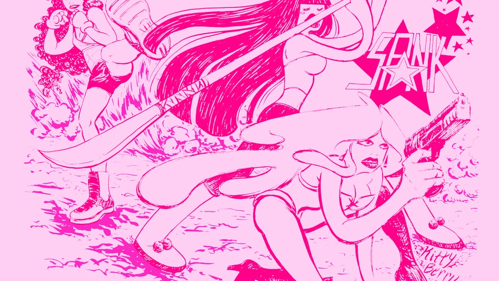 SPANK! A graphic novel about female fucker-uppers! project video thumbnail