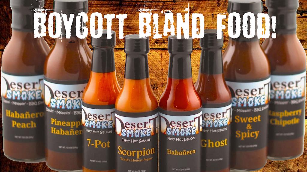 Boycott Bland Food! project video thumbnail