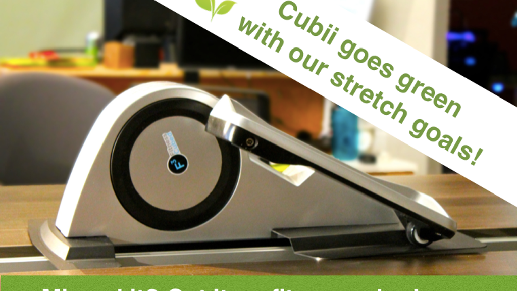 Cubii: World's First Under-Desk Elliptical Trainer project video thumbnail