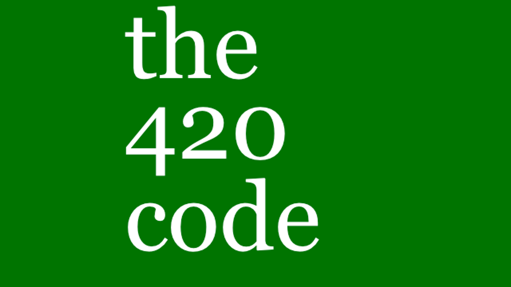 the 420 code: a booklet project video thumbnail