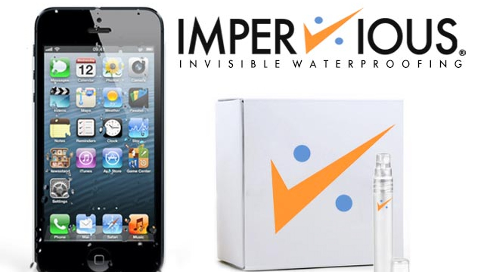 An Affordable Waterproofing Spray Bottle Kit Designed For The iPhone.