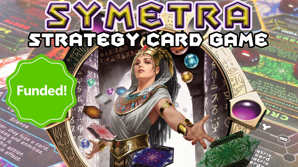 Symetra: hexagonal card game of elements, emotions & energy! project video thumbnail