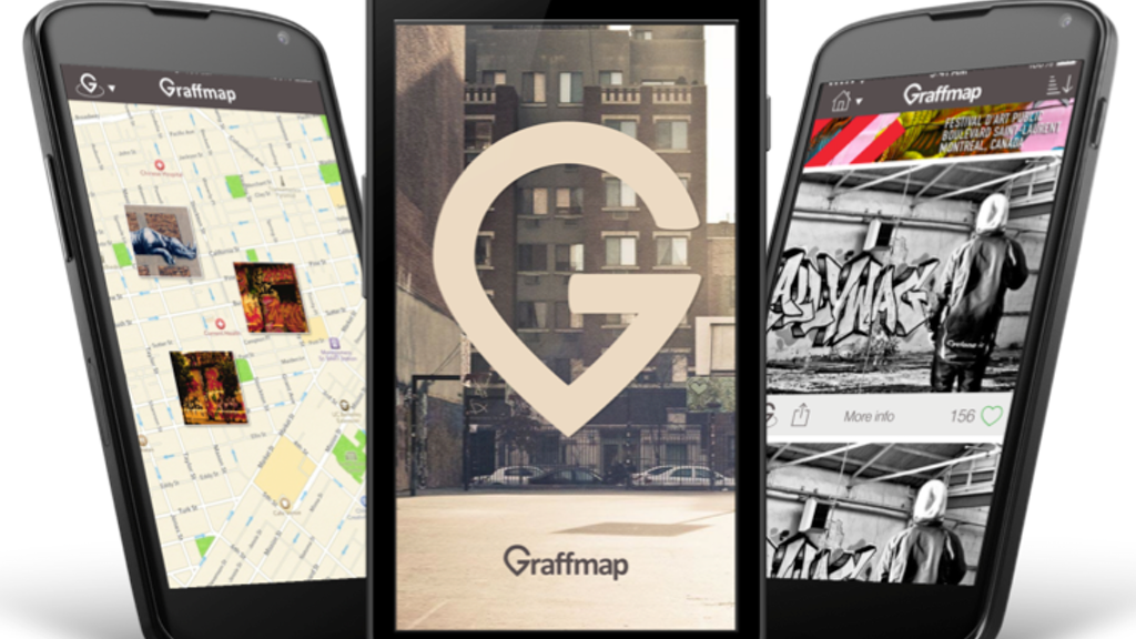 Graffmap: discover and share street art project video thumbnail
